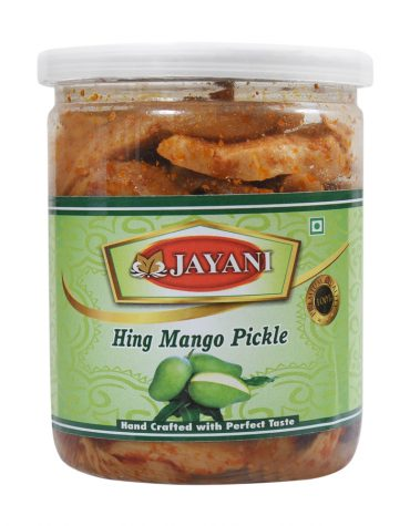 Jayani hing mango pickle 400 gm