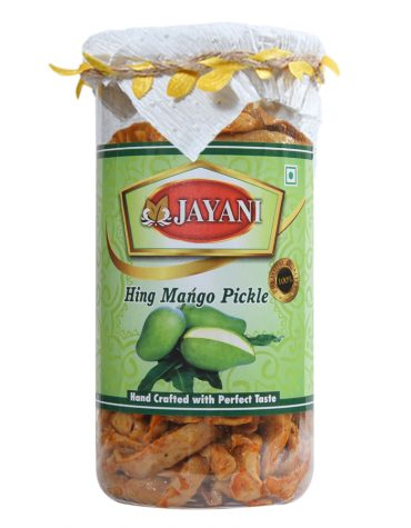 Jayani hing mango pickle 800 gm