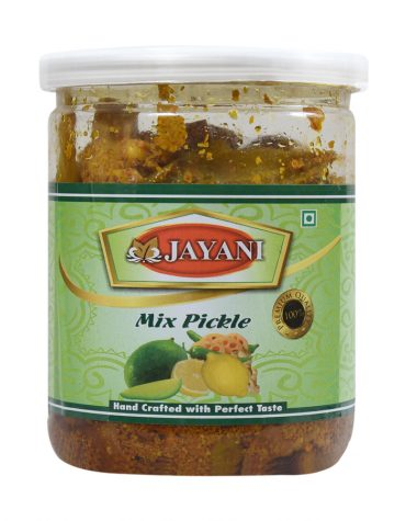 Jayani mixed pickle 400 gm