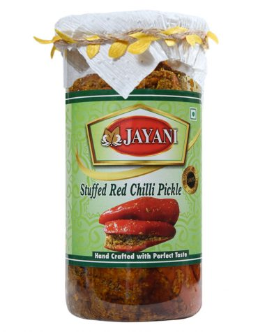 Jayani stuffed red chilli pickle 800 gm