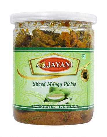 Jayani sliced mango pickle 400 gm
