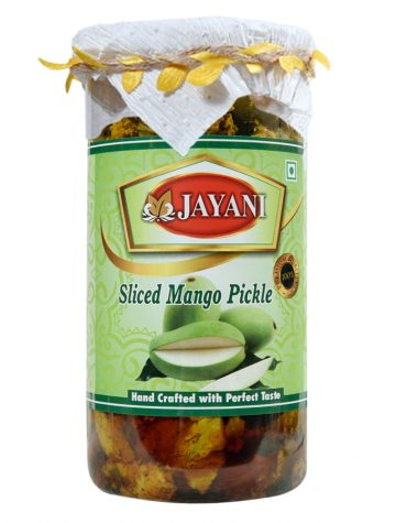 Jayani sliced mango pickle 800 gm