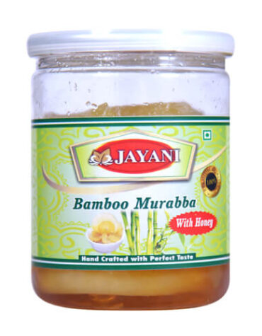 Jayani bamboo murabba with honey 400 gm